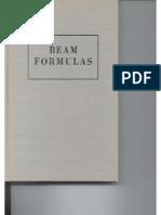 Kleinlogel Beam Formulas