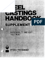 Steel Castings Harden Ability