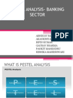 Pestel Analysis- Banking Sector