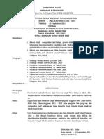 Sk. Panitia Smester 1 Tahun 2011-2012