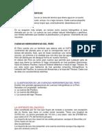 CUENCAS HIDROGRÁFICAS DEL PERÚ