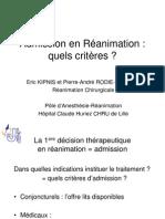 Criteres Admission Rea