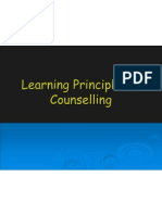 Learning Principles in Counselling