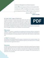 Introduction Letter 4 Honest Agency 4 Recruitment