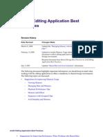 Editor Best Practices