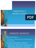 Emergency Medication