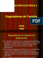 Regulador de Tension en Distribucion