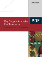 Key Supply Strategies for Tomorrow AK Kearney