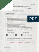 IIFT 2011 Answer Key by Gajendra