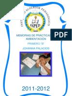 MEMORIAS DE LAS PRÁCTICAS DE AMBIENTACIÓN