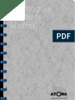 Atoma Catalogue / Katalog / Catalog 2011