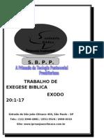 EXEGESE EXODO  20  1  17