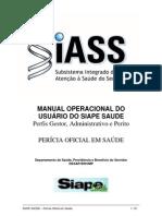 Opt Appfiles Siapenet Banner SIAPE Saude Manual Operacional Pericia Oficial