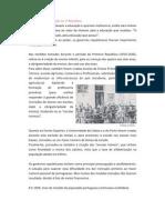 A Política de educação na 1ª República - Cópia