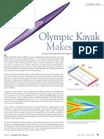 Olympic Kayak Makes Waves