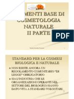 Elementi Base Di Cosmetologia Naturale Parte II