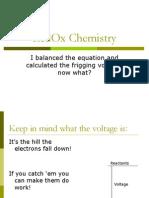 10 - RedOx Chemistry - Nernst