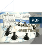 Kinds of Communication and Kinds of Meetings