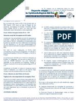 Reporte diario Vigilancia de Sarampion N-¦19 DGE 2011