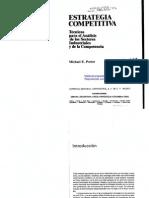 Estrategia Competitiva - Michael Porter