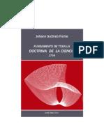 Fichte, Doctrina de La Ciencia 1794