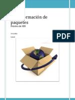 Transformación de paquetes