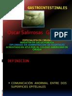 Fistulas ales Dr Salirrosas