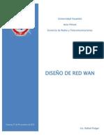 Diseño de la RED WAN