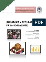 DINAMICA Y REGULACIÓN DE LA POBLACION