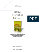 Affiliate Marketing Schnellstart