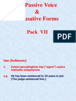 7-Passive Voice & Causative Form
