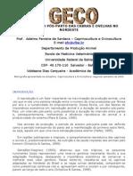 PRIMEIRO CIO PÓS-PARTO DAS CABRAS E OVELHAS NO