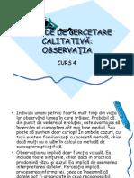 Metode de Cerc Calit Observatia Curs4.1 Ppt