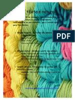Fibras têxteis naturais