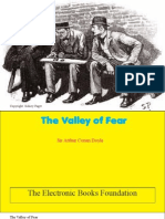 The Valley of Fear by Doyle