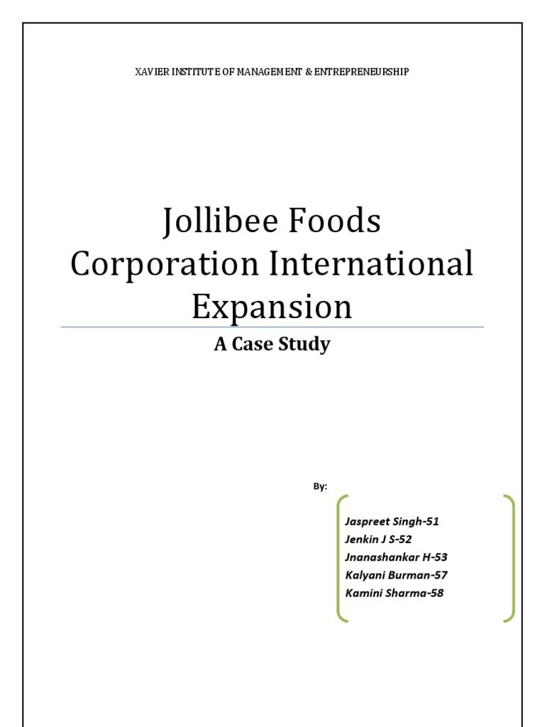 jolibee case essay