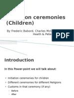Initiation Ceremonies Children) [RE]