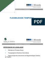 Flexibilidade Temporal e Contratos a Termo