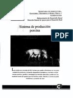 SISTEMA DE PRODUCCIÓN PORCINO