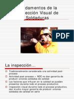 fundamentos de la inspección visual de soldaduras