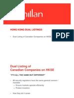 129902_Presentation Re Hong Kong Dual Listings