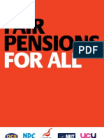 Fair Pensions for All Pamphlet