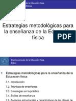 7. La metodología en la Educación física