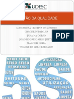 APRESENTAÇÃO 5S gestão