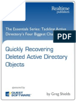 Active Directory Recovering