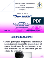 DESNUTRICION BARRON