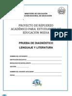 Prueba de Diagnóstico de Lenguaje y Literatura - 2011