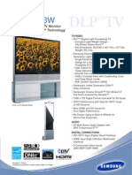 Samsung HLP6163W Samsung HLP6163W Data Sheet