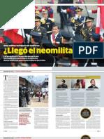 ¿Llegó el Neomilitarismo?