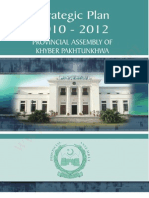 Khyber Pakhtunkhwa Strategic Plan 2010-2012